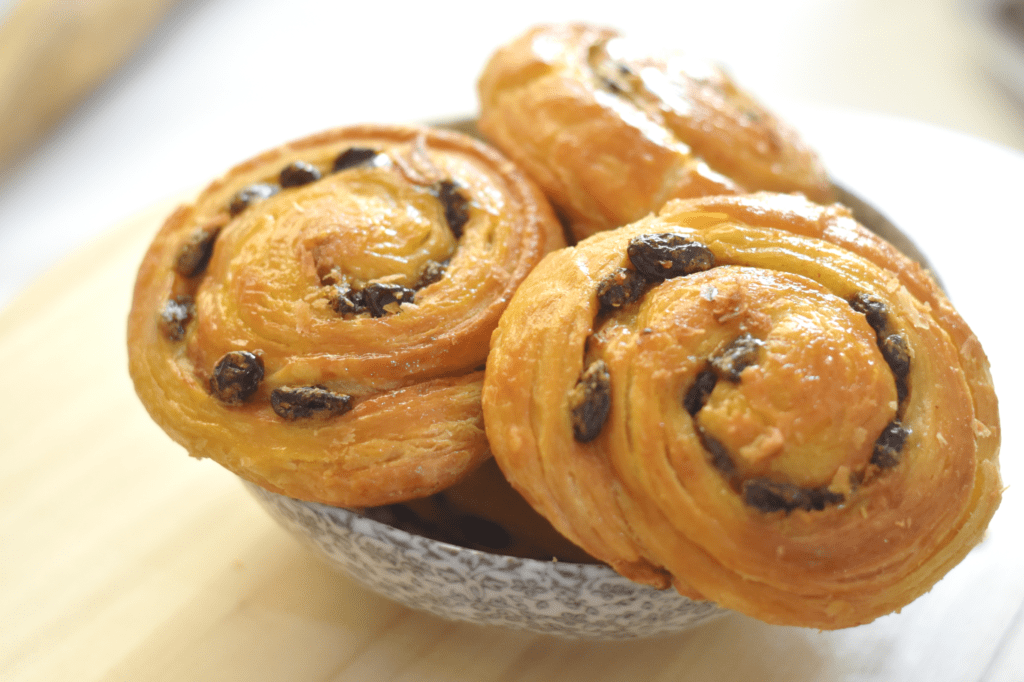Cinnamon Raisin Danish Pastry