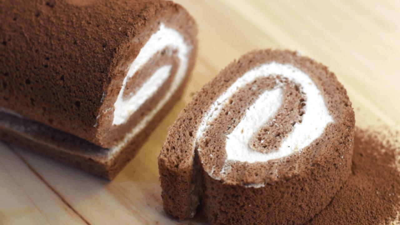 chocolate swiss rolls