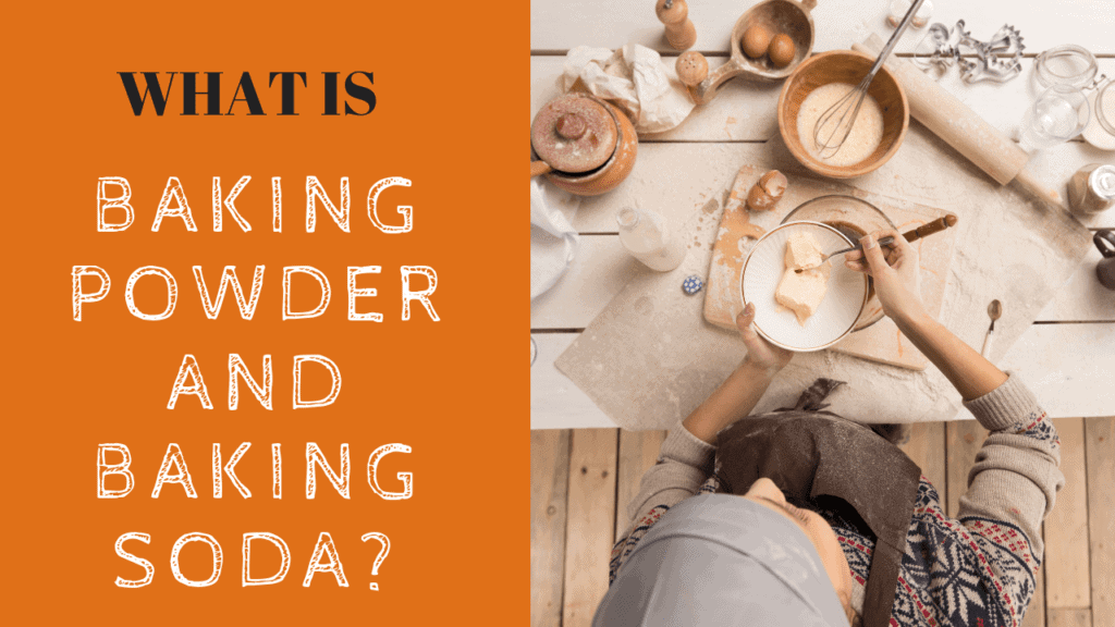 what is baking powder and baking soda