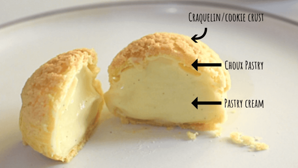 cream puffs crack buns