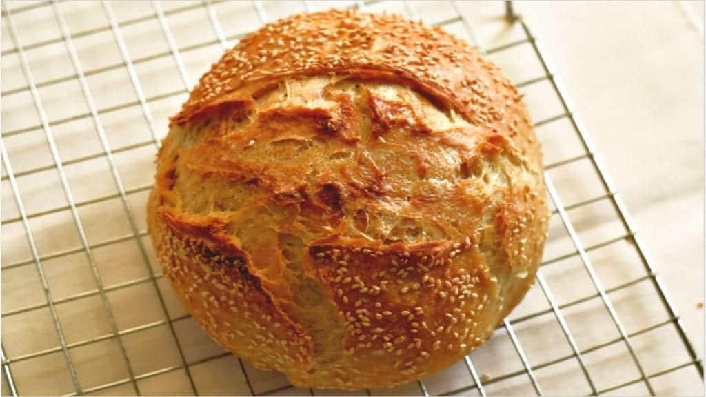 No knead bread dutch oven