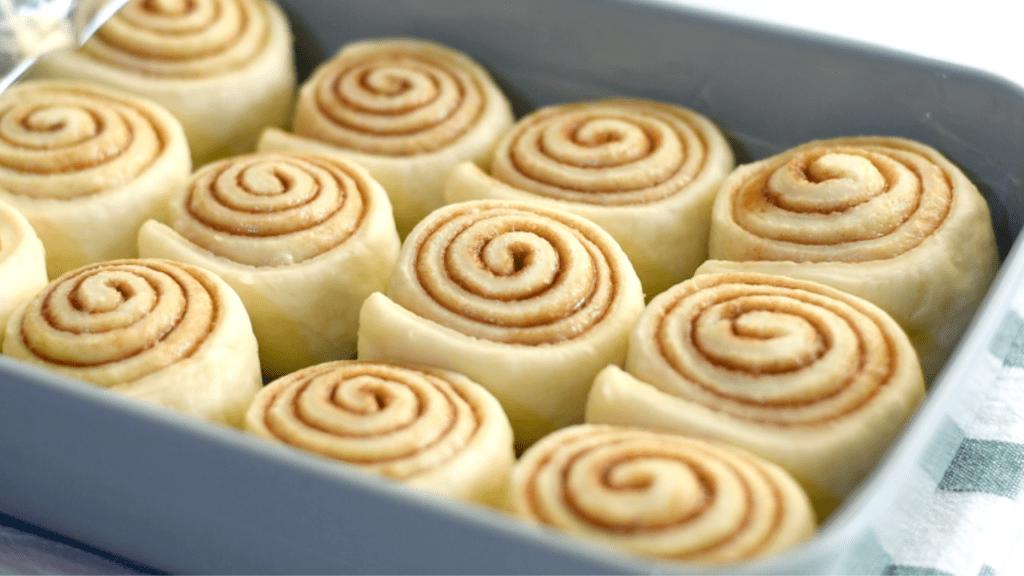 Quick Homemade Cinnamon Rolls