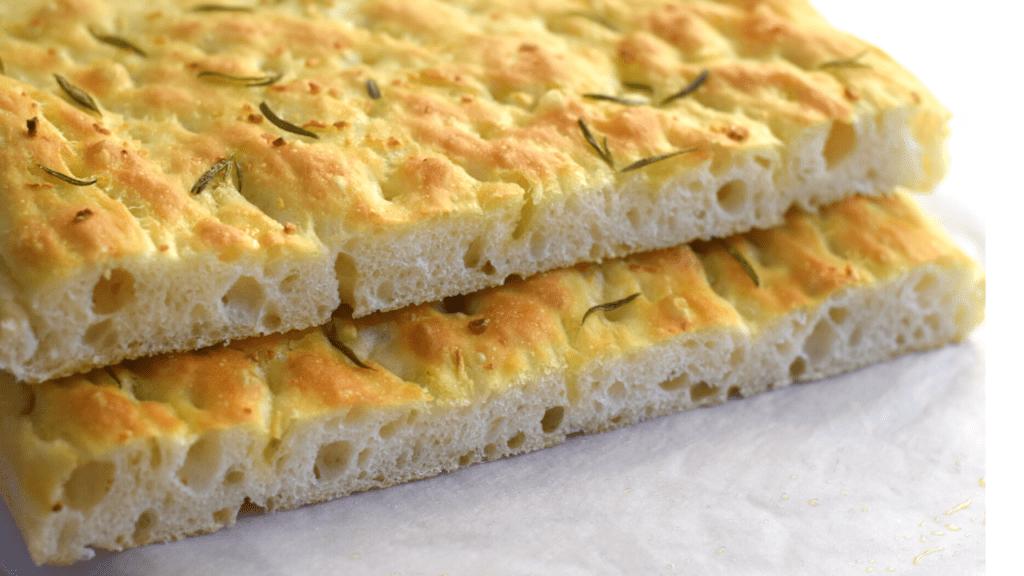 How to make focaccia bread.