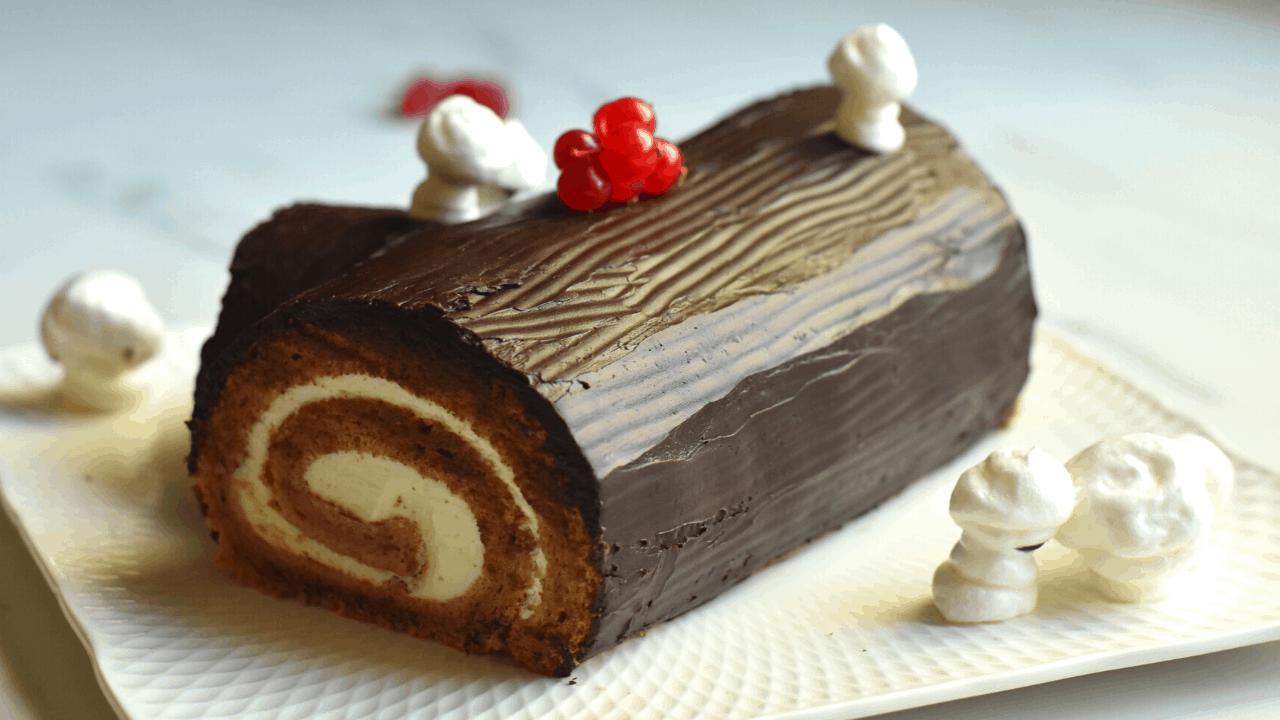 Yule log recipe