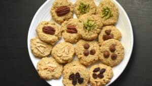 Easy and Healthy Recipe for oatmeal cookies