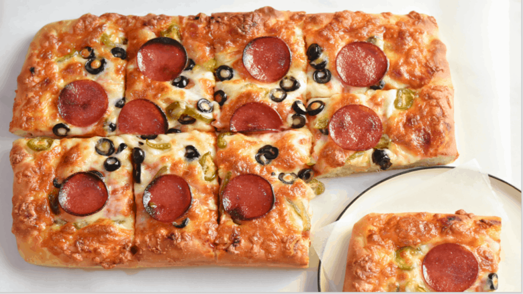 what is sicilian pizza