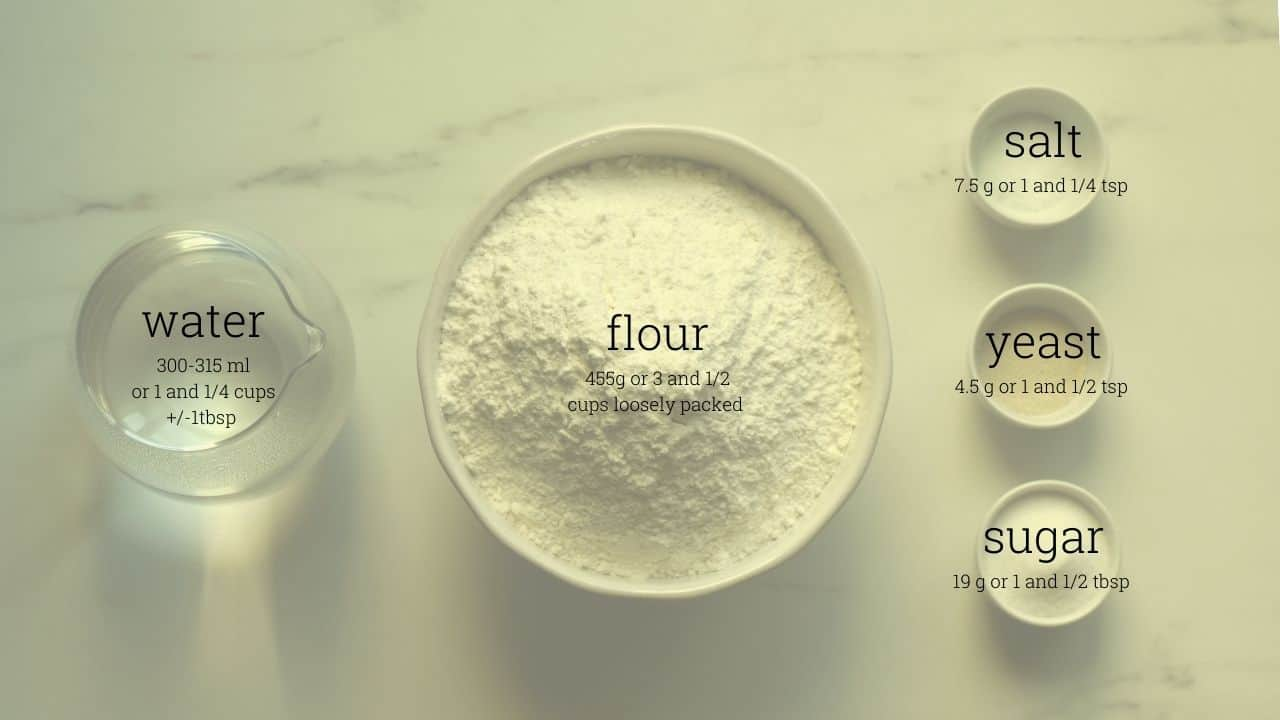 english muffins ingredients