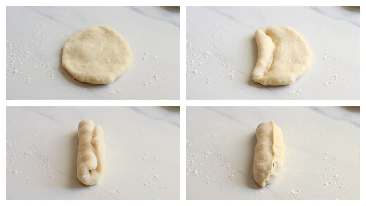 How to shape challah rolls