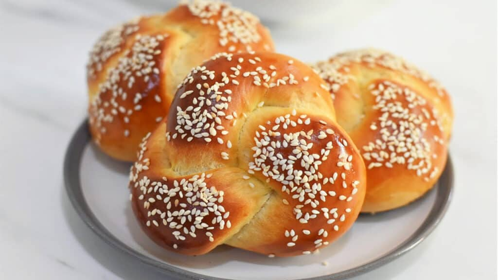 challah buns recipe