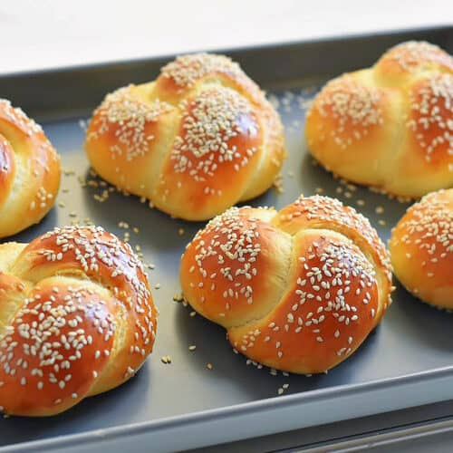 challah rolls recipe