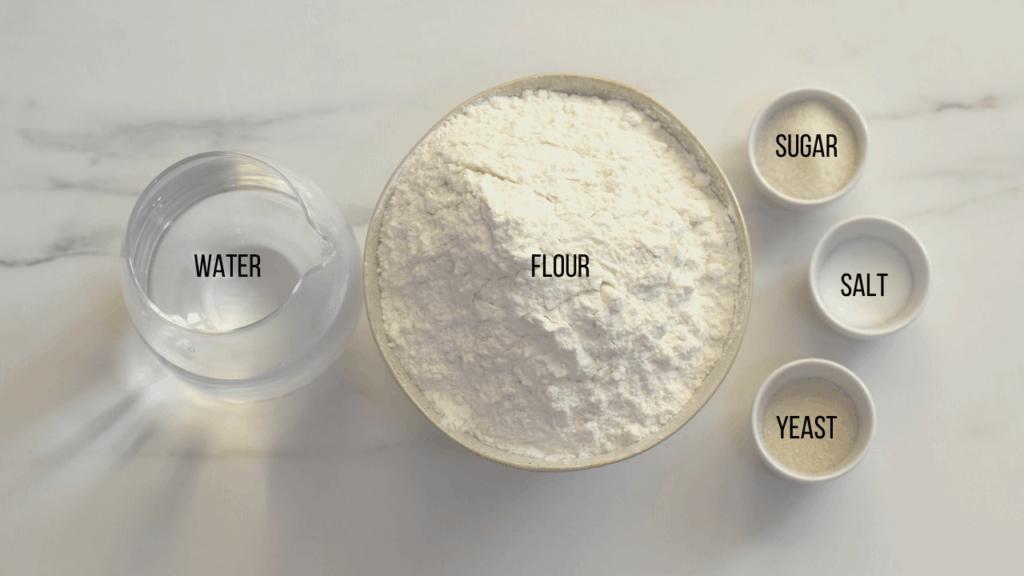 Ramadan pidesi ingredients