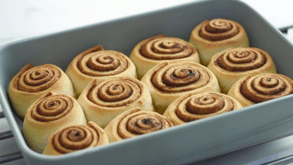 Moist overnight cinnamon rolls
