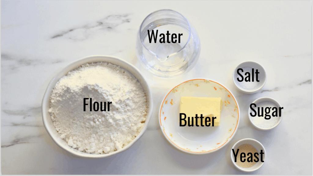 cinnamon apple pull apart bread dough ingredients